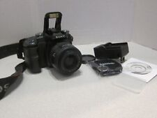 Sony DSLR-A100 Digital SLR Camera W/ Lens MINOLTA AF 35-70  2GB Card