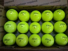 15 NEAR MINT TITLEIST PROV1 PROVIX OPTIC YELLOW USED GOLF BALLS