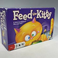 Feed The Kitty Game Cat Mice Dice Gamewright Ages 4+ Dice Game Complete 2008