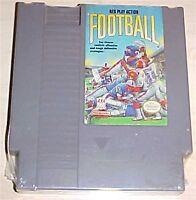 NES Play Action Football Nintendo Vintage classic original game cartridge