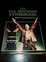 THE YUL BRYNNER COOKBOOK First Edition Gypsy Thai Swiss Russian More Cuisine VG