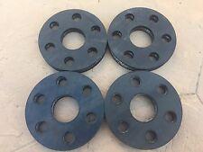 Set of 4 Rhino Bush Hog Hardee Sidewinder rotary cutter flex coupler rubber disc