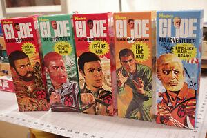 Custom GI JOE boxes from the 1970s! Adventure Team & MORE!