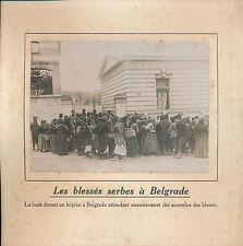 PHOTO PRESSE c. 1910 - Population  Hôpital de Belgrade  Serbie  - 152