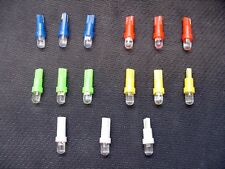 15 Assorted Wedge Instrument Panel Cluster Dashboard LEDs Domes Lights Bulbs GM