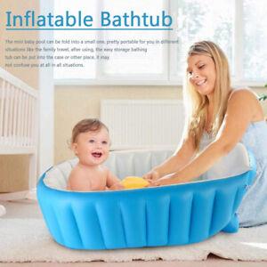 Blow Up Adult Spa PVC Folding Portable Bathtub Warm Inflatable Bath Tub