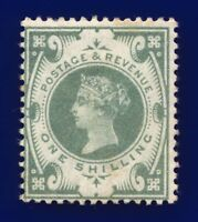 1887 SG211 1s Dull Green K40(1) Mounted Mint Hinges cbxd