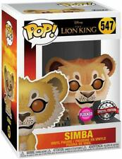 Funko POP! Vinyl Disney Lion King Simba (Flocked)  Exclusive Figure 547 NEW