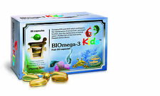 Biomega-3 Kids Fish Oil - 80 - 1000mg Capsules by Pharma Nord - Child's Omega 3