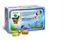 Biomega-3 Kids Fish Oil - 80 - 1000mg Capsules by Pharma Nord - Child's Omega 3