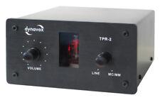 Dynavox TPR-2 Black Sound Converter Sound Editor Tube Preamplifier