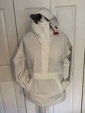 MARMOT - Bennu Anorak White WATERPROOF Hooded Jacket - Size M - RRP £185 - BNWT