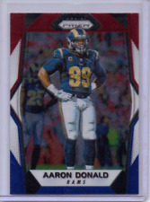 2017 Panini Prizm Prizms Red White and Blue #10 Aaron Donald - NM