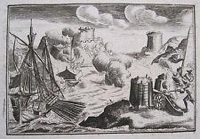 Nafplio Nauplia 1686: Battaglia navale di Napoli di Romania Sea battle Morea