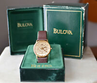 Vintage BULOVA Accutron Quartz WRISTWATCH Canadian Firefighters 1980s ETA 955112