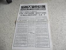 1970.Sav Breiz organe du combat breton N°4.