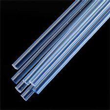 Plastruct 1/8 Blue Fluorescent Acrylic Rods (7) 90253