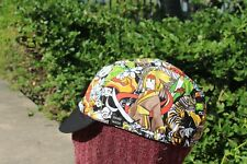 Cycling cap JAPANESE ANIMATION one size 100% COTTON   handmade new