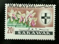Malaysia Definitive Orchids 1965 Flower(stamp) MNH *Error *Perf Shift *Rare