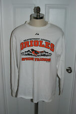 Baltimore Orioles Spring Training Long Sleeve Shirt Majestic XL
