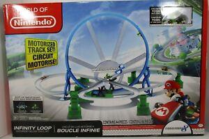 World of Nintendo Mario Kart 8, Infinityloop Motorized Deluxe Track set New