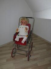 DDR Puppenwagen Sportwagen Buggy inkl. Babypuppe 70er 80er Jahre Puppe Zekiwa ??