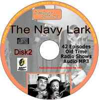 The Navy Lark 42 Old Time Radio Episodes Audio MP3 CD OTR Jon Pertwee disk 2