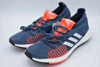 $140 Adidas PulseBOOST HD Boost Running Shoes Grey Blue FU7337 Men's Size 9 NEW