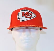 New Era Kansas City Chiefs Sideline Classic 59FIFTY Red Gold Fitted Hat Cap Sz 7
