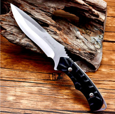 Clip Point Hunting Knife Tactical Military Combat Jungle Wild Aluminum Handle XS