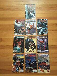 SPECTACULAR SPIDER-MAN #1 - #10 Marvel Comics Lot/Run 2003 VENOM 6