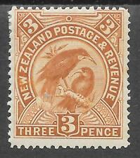NEW ZEALAND SG 251 M/MINT 1898; GOOD CLEAN STAMP.