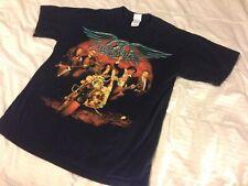 Aerosmith T Shirt Rocking The Joint Tour 2005 Black Medium Graphic Concert Tee