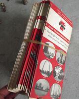 Lot of 17 Vintage 1967 PRR Pennsylvania Railroad Train Timetables Schedules LOOK