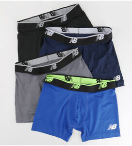 NEW 2021 5 Pack New Balance Mens Quick Dry Microfiber Boxer Briefs size S-XL