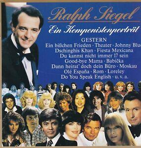 Ralph Siegel - Gestern-Ein Komponistenportrait
