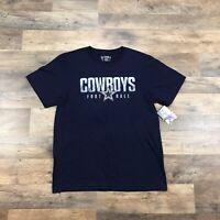 NEW Dallas Cowboys T-Shirt Boys Youth Size XL 18-20 Short Sleeve NFL Cowboys NEW