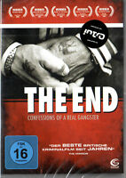 THE END - CONFESSIONS OF A Real GANGSTER, DVD Recomendado von Intro - NUEVO /