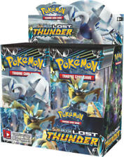 Lost Thunder 12 Booster Pack Lot 1/3 Booster Box Pokemon TCG Sun & Moon