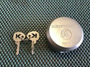 Kryptonite Lock 855156 Two Keys World Toughest Lock