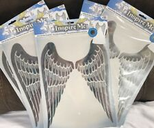 Iron On Angel Wings Foil Metallic Transfer Lot Of 5 Inspire Me Girls Night Craft