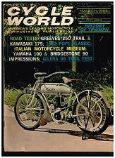CYCLE WORLD MARCH 1966 SEE CONTENTS IN SECOND PHOTO