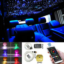 12V Car Overhead Star Ceiling Light Kit Interior Fiber Optic Meteor Decoration