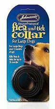 JOHNSON'S Dog Flea & Tick Collar Large Breed Brown 65cm X 6