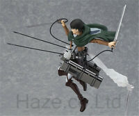 Anime Attack on Titan Levi Ackerman Action Figura Estatua Juguete con Caja 15cm