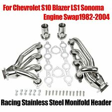 For 1982-04 Chevrolet S10 Blazer LS1 Sonoma Engine SwapRacing Stainless Headers