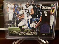 2012 Panini Gridiron Gamebreakers Materials #85/99 Ray Rice #1