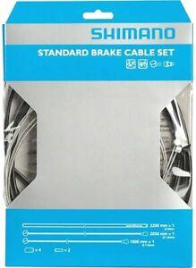 NEW Shimano Universal Standard Brake Cable Set, For MTB or Road Bikes (Black)