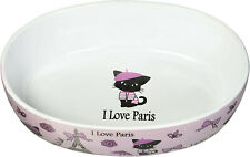 TomnToo Oval Cat Bowl in Pink