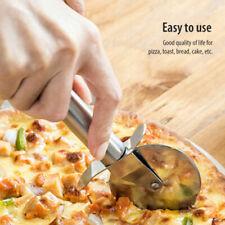 8''Stainless Steel Pizza Cutter Wheel Slicer Pancake Cutting Knife Kitchen Tool